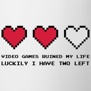 Video Games Ruined My Life Magliette - Tazza