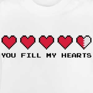 You Fill My Hearts  Shirts - Baby T-Shirt