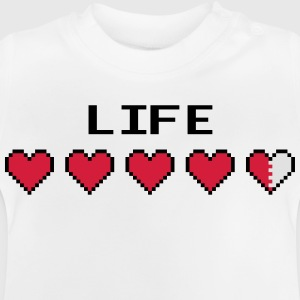 Life Hearts Tröjor - Baby-T-shirt