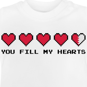 You Fill My Hearts  Sweaters - Baby T-shirt