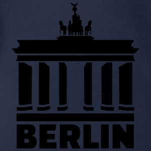 Berlin T-Shirts - Baby Bio-Kurzarm-Body