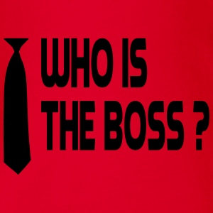 Who is the boss ? Tee shirts - Body bébé bio manches courtes
