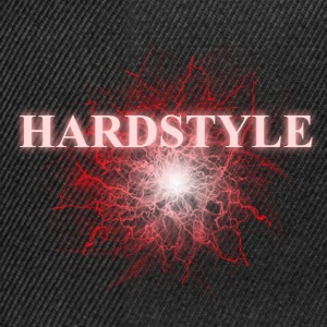 hardstyle_red T-shirts - Snapback Cap