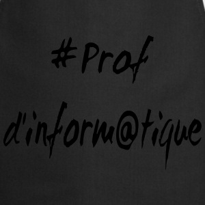 Prof d'informatique Tee shirts - Tablier de cuisine