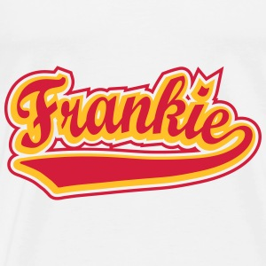 Frankie - T-shirt Personalised with your name Hoodies - Men's Premium T-Shirt