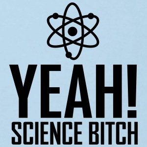 yeah science b!tch atom ii Sweaters - Kinderen Bio-T-shirt