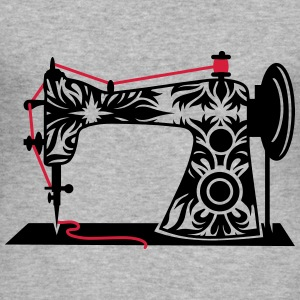 An antique sewing machine Hoodies & Sweatshirts - Men's Slim Fit T-Shirt