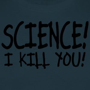 science i kill you / silence i kill you Tabliers - T-shirt Homme