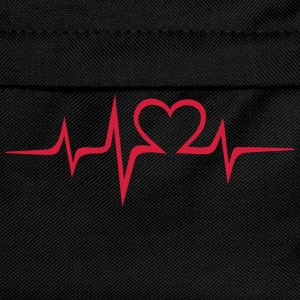 Heart rate music Dub Techno House Dance Electro Sudaderas - Mochila infantil