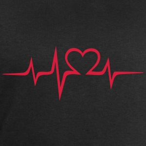 Heart rate music Dub Techno House Dance Electro Tee shirts - Sweat-shirt Homme Stanley & Stella