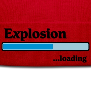 Explosion loading T-Shirts - Winter Hat