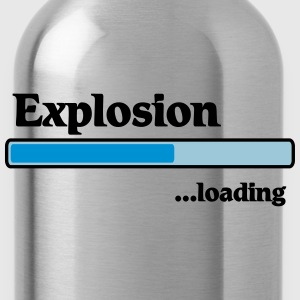 Explosion loading T-Shirts - Water Bottle