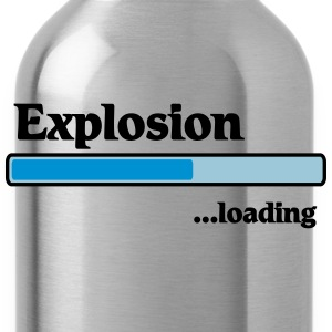 Explosion loading T-shirts - Drinkfles