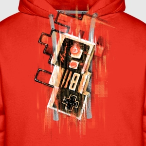 Blurry NES T-shirt - Sweat-shirt à capuche Premium pour hommes
