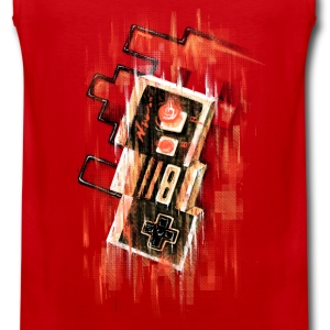 Blurry NES Shirts - Men's Premium Tank Top
