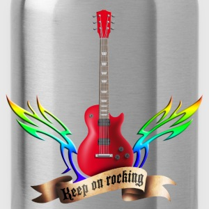 guitars_and_wings_032014_c T-Shirts - Trinkflasche