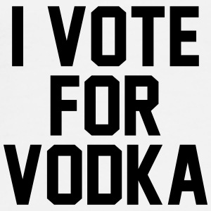I Vote For Vodka Mobil- & surfplattefodral - Premium-T-shirt herr