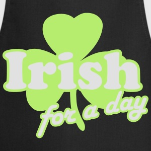 St. Patrick's day: Irish for a day T-shirts - Keukenschort