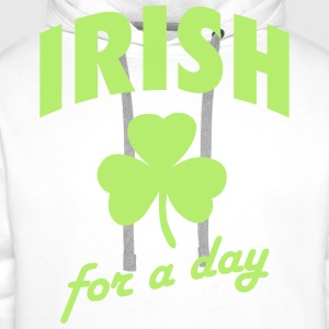 Irish for a day T-skjorter - Premium hettegenser for menn