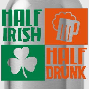 St. Patrick's day: Half irish, half drunk T-shirts - Drinkfles