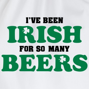 St. Patrick: I've been irish for so many beers Tee shirts - Sac de sport léger