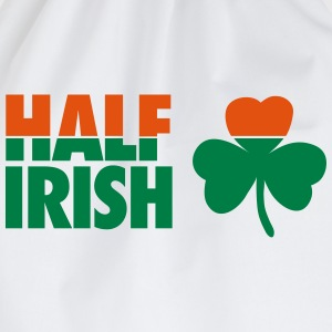 St. Patrick's day: Half irish T-shirts - Sportstaske