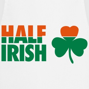 St. Patrick's day: Half irish T-shirts - Keukenschort