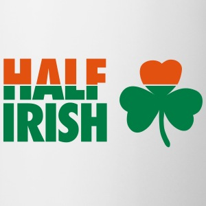 St. Patrick's day: Half irish T-shirts - Mok