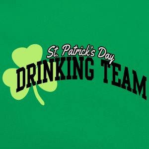 St. Patrick's day drinking team T-shirts - Retro-tas