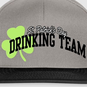 St. Patrick's day drinking team T-shirts - Snapback Cap