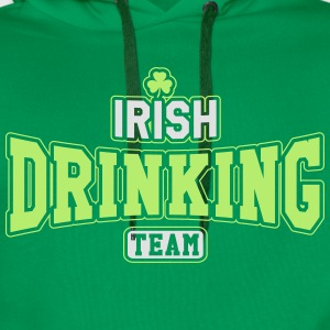 St. Patrick's day: Irish drinking team T-skjorter - Premium hettegenser for menn