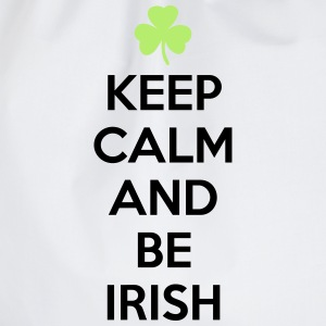 St. Patrick's day: Keep calm and be irish T-shirts - Sportstaske