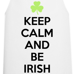 St. Patrick's day: Keep calm and be irish T-shirts - Forklæde