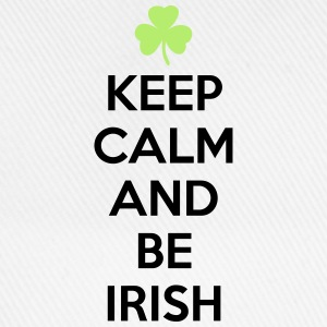 St. Patrick's day: Keep calm and be irish Koszulki - Czapka z daszkiem