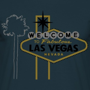 Las Vegas (fabulous with palm) Pullover & Hoodies - Männer T-Shirt