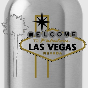 Las Vegas (fabulous with palm) Pullover & Hoodies - Trinkflasche