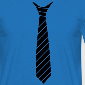 Tie Illusion Sweatshirts - Herre-T-shirt