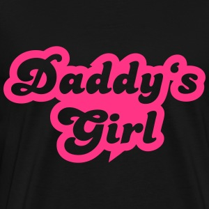 Daddy's girl Gensere - Premium T-skjorte for menn