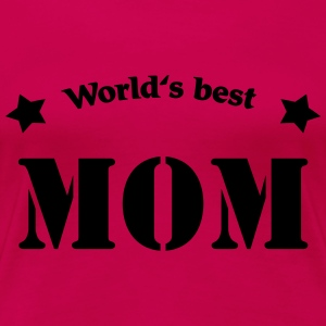 World's best Mom Shirts med lange ærmer - Dame premium T-shirt