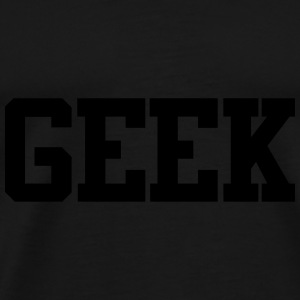 Geek Caps & Hats - Men's Premium T-Shirt