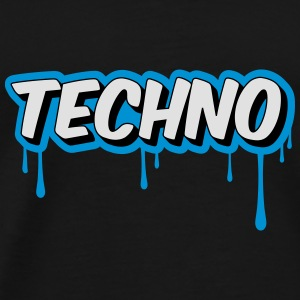 TECHNO - Party Sacs et sacs à dos - T-shirt Premium Homme
