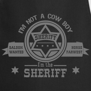 sheriff Tee shirts - Tablier de cuisine