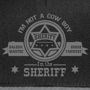 sheriff Tee shirts - Casquette snapback