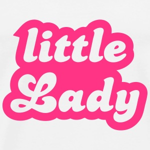 little Lady Sweatshirts - Herre premium T-shirt
