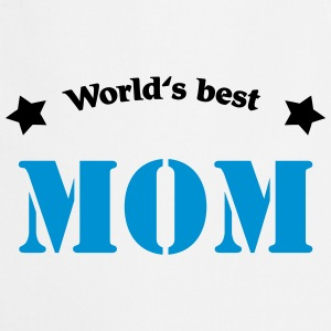 World's best Mom Magliette - Grembiule da cucina