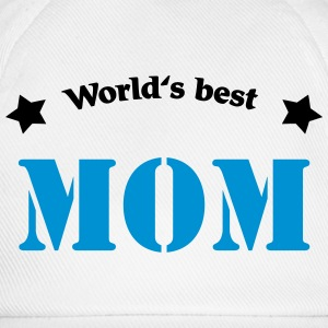 World's best Mom Magliette - Cappello con visiera