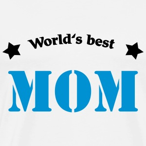 World's best Mom Shirts med lange ærmer - Herre premium T-shirt