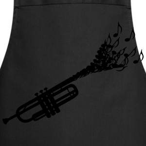 Trumpet sheet music  T-Shirts - Cooking Apron