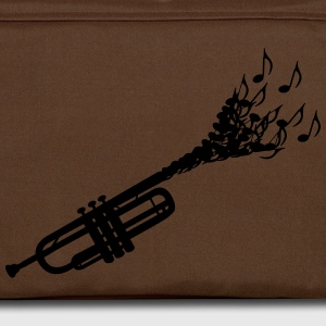 Trumpet sheet music  T-Shirts - Shoulder Bag