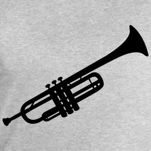 Trumpet T-Shirts - Men's Sweatshirt by Stanley & Stella